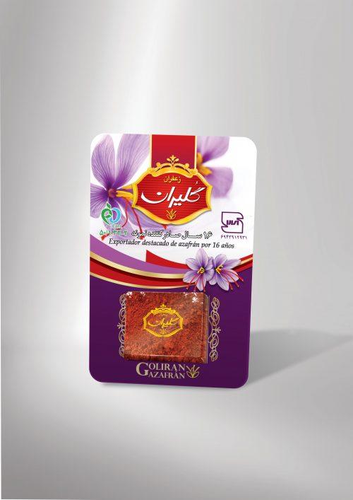 خرید زعفران پودری 1 گرمی گلیران